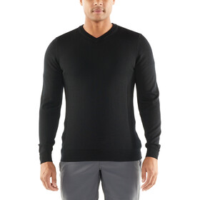 Icebreaker Quailburn Sweat-shirt à col en V Homme, black
